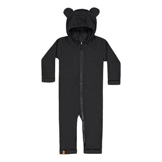 Metsola AW19 RIB Bear Playsuit Black