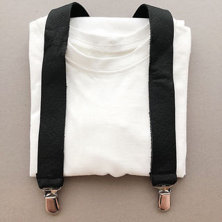 For Minis And Mommies Suspenders Black