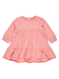 Name It Nbfdalone LS Dress Sunkist Coral - Mekko