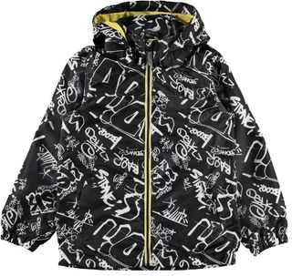 Name It Mellon Jacket - Graffitti/Black