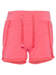 Name It Nmfderika Shorts Neon Coral - Shortsit