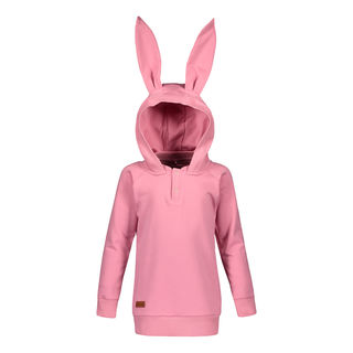 Metsola AW19 Bunny Hoodie Wild Rose