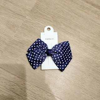 Name It Nkfacc-Jister Hairbow Dot Dark Sapphire