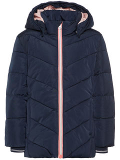 Name It Nmfmil Puffer Jacket Sky Captain