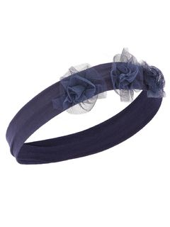 Name It Nbfacc-Olina Hairband Dark Sapphire OS