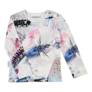 Gugguu AW18 Print Shirt Lucid Wings
