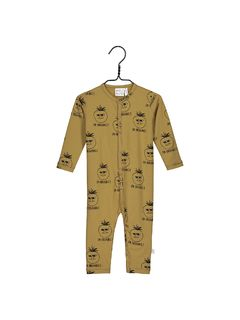 Mainio Trikoinen Jumpsuit, Dull Gold