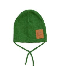 Mini Rodini AW19 Panda Hat Green