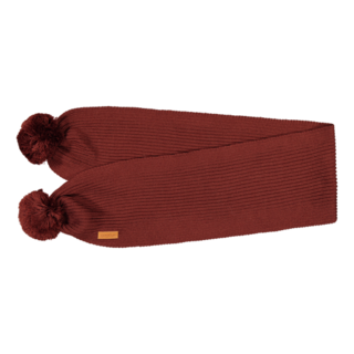 Gugguu AW19 Scarf With Tufts Bark Brown