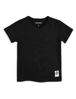 Mini Rodini SS19 Basic SS T-Shirt Black