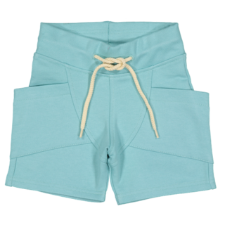 Gugguu College Shorts Sea Blue / White