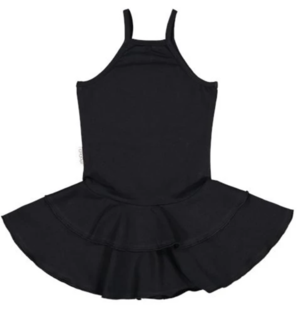 Gugguu SS20 Spaget Dress Black