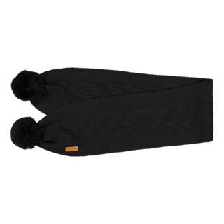 Gugguu AW19 Scarf With Tufts Black