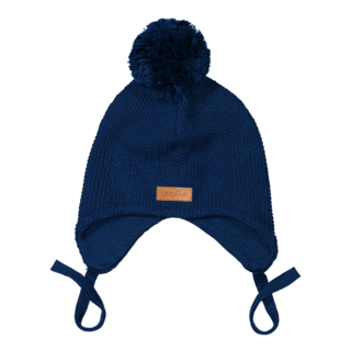 Gugguu SS18 Single Tuft Baby Beanie Deep Blue