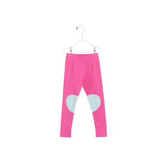 Papu SS18 Patch Leggings Very Pink Plankton Green