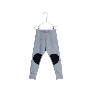 Papu SS18 Patch Leggings Grey Melange