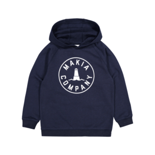 Makia Astern Hooded Sweatshirt Navy