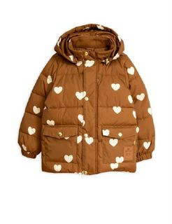 Mini Rodini AW19 Hearts Pico Puffer Jacket