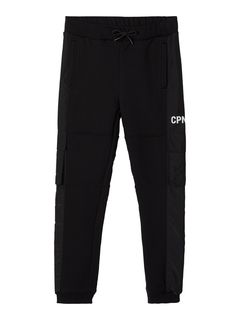 Name It Nkmdude Sweat Pant Unb Black