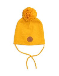 Mini Rodini AW19 Penguin Hat Yellow