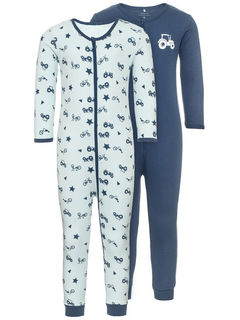 Name It Nmmnightsuit 2P Ensign Blue