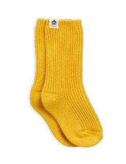Mini Rodini AW19 Wool Sock Yellow