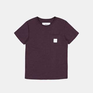 Makia Pocket T-Shirt Wine