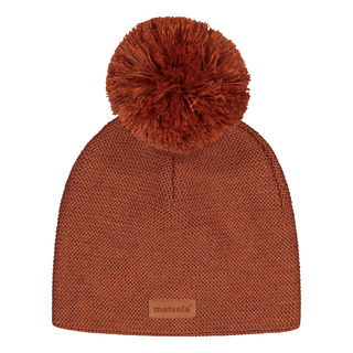 Metsola AW19 Knitted Classic Beanie Roasted Pecan
