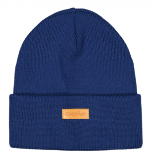 Gugguu Aw18 Basic Knitted Beanie Night Blue