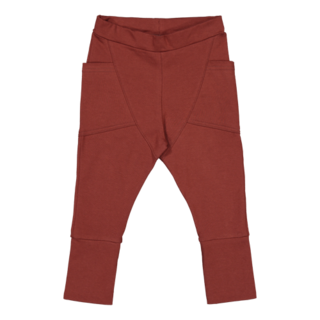 Gugguu AW19 Unisex Pants Bark Brown