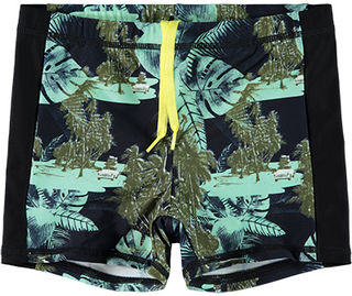 Name It Nkmzamo Swim Tights Ocean Wave