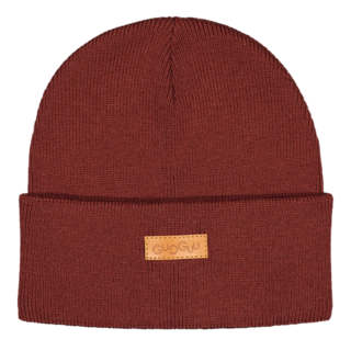 Gugguu AW19 Basic Beanie Bark Brown