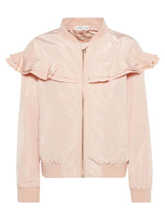 Name It Nkfjills Ls Bomber Jacket Peachy Keen - Takki