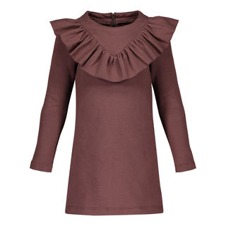 METSOLA AW18 Frilla Dress Coffe