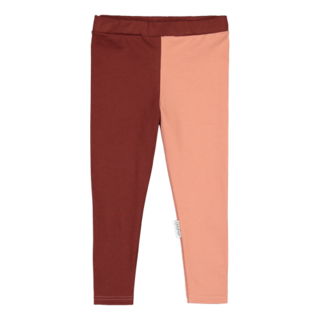 Gugguu AW19 Leggings Bark Brown/Rose Ber
