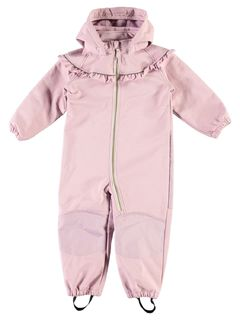 Name It Nmfalfa Softshell Suit Frill Dawn Pink Haalari