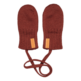 Gugguu AW19 Baby Mittens Bark Brown