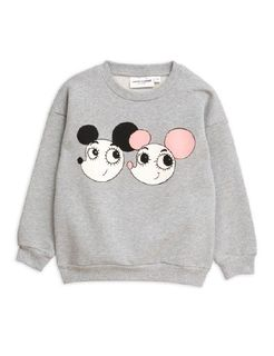 Mini Rodini AW19 Ritzratz Sp Sweatshirt Grey Melange