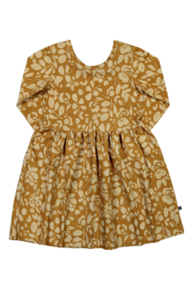 Kaiko AW19 Floral Dress Ls Ochre