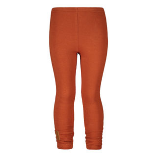 Metsola AW19 Basic Leggins Rib Roasted Pecan