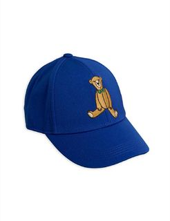 Mini Rodini SS20 Teddy Bear Cap Blue