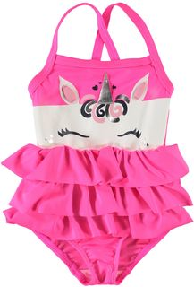 Name It Nmfmob Clea Swimsuit Icon Knockout Pink