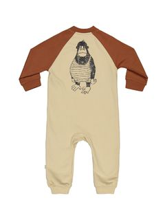 Mainio SS20 Lifeguard Jumpsuit Caramel Cafe/Semolina