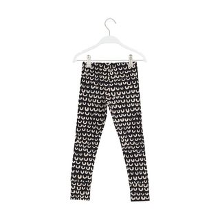 Papu AW19 Fold Leggings Cream Black