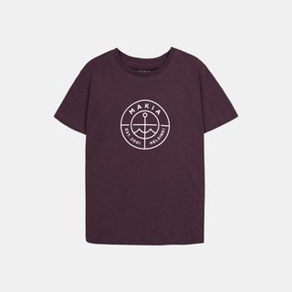Makia Scope T-Shirt Wine