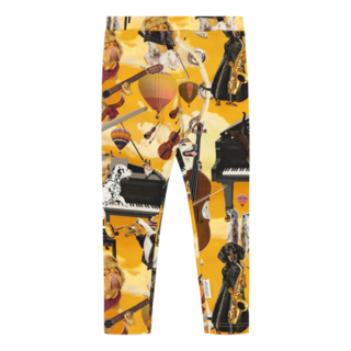 Gugguu AW20 Print Leggings Jazz Dogs