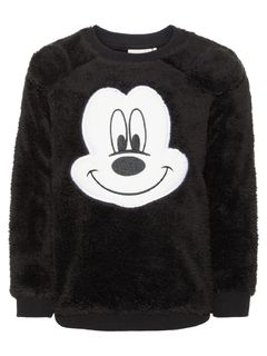 Name It Nmmmickey Nico Sweat Bru Wdi Black