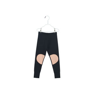 Papu SS18 Patch Leggings Black, Worm Pink - Leggins