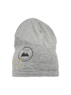 Name It Mokka Sweat Hat Grey Melange