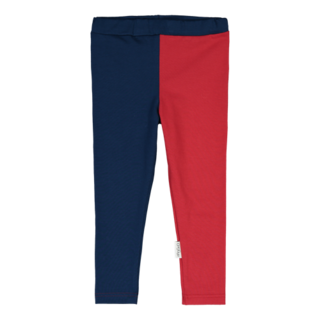 Gugguu AW18 Leggings Night Blue/Salsa